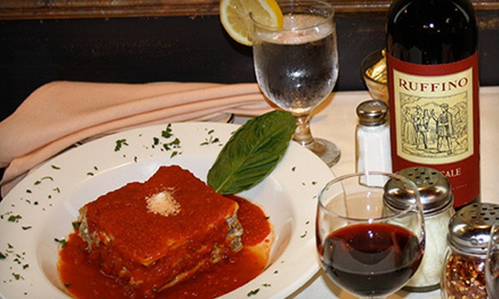 Lombardo's Restaurant - Downtown Albany: Italian Meal with Wine and Appetizer for Two or Four at Lombardo's Restaurant (Up to 54% Off)