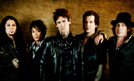 ArtsQuest: Buckcherry and Fuel at Musikfest Sands Steel Stage on Fri., Aug. 12 at 7:00PM: 200-Level Grandstand Seating - Buckcherry in Bethlehem