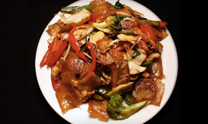 Basil Restaurant - Short North: Thai Fare and Drinks at Basil Restaurant (Up to 56% Off). Two Options Available.