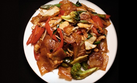 $20 Groupon for Thai Cuisine and Drinks - Basil Restaurant in Columbus