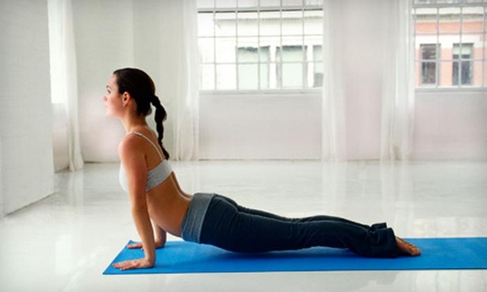 Utkatasana Yoga - Mid-Govans: 5 or 10 Hot Power-Yoga Classes at Utkatasana Yoga (Up to 75% Off)