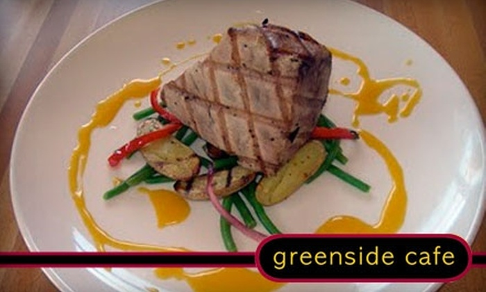 Greenside Cafe - Village At Bella Vista: $10 for $20 Worth of New Mexican and American Fare and Drinks at Greenside Cafe