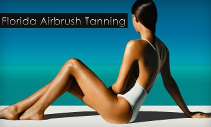Florida Airbrush Tanning - Julington Creek: $17 for Spray Tan at Florida Airbrush Tanning