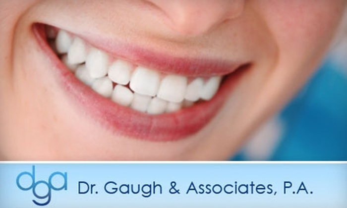 Dr. Gaugh & Associates, P.A. - Executive Hills: $139 for an In-Office Teeth Whitening Treatment at Dr. Gaugh & Associates, P.A. ($500 Value)