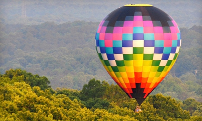 Balloons Over Georgia - Multiple Locations: Hot Air Balloon Ride for One or Two from Balloons Over Georgia (Up to 54% Off)