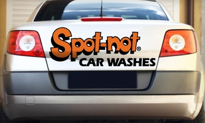 Spot Not Car Wash - Multiple Locations: $5 for Two Automatic Car Washes at Spot Not Car Wash ($10 Value)