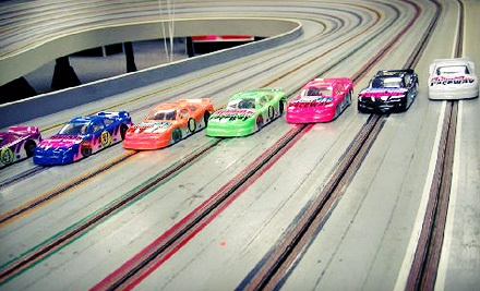 One-Hour of Slot-Car Racing for Two on Recreational or Expert Track at Elmsford Raceway (Half Off)