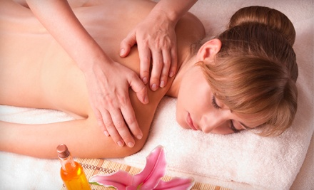 One or Two 60-Minute Therapeutic Massages at Rising Lotus Yoga and Massage (52% Off)