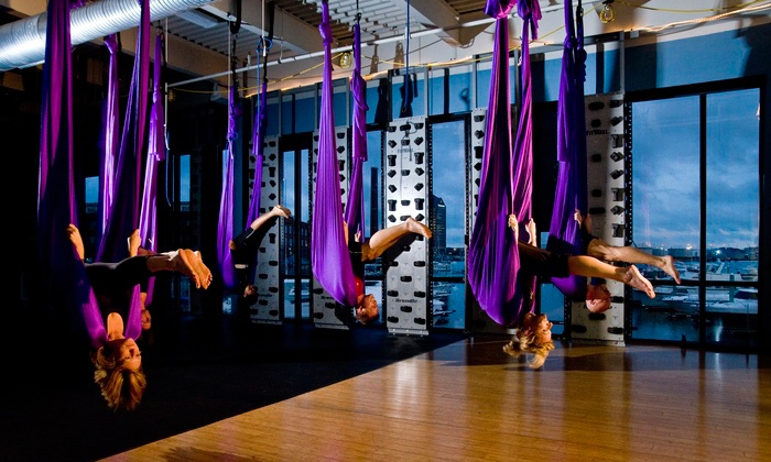 Canton Club  - Canton Club: $29 for Five Air Yoga Classes at Canton Club ($80 Value)
