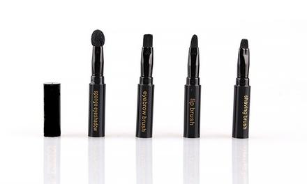 4-in-1 Travel Makeup Brush Set
