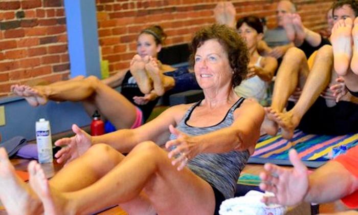 Seacaost Power Yoga - Hampton: Three Power Yoga Classes at Seacoast Power Yoga (56% Off)