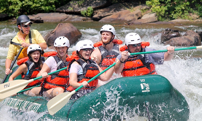 Adventures Unlimited - Ocoee: $29.95 for a Half Day of River Rafting for One from Adventures Unlimited ($59.95 Value)