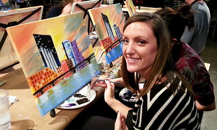 Start to Paint - Grand Rapids: Painting Party for One, Two, or Four from Start to Paint (Up to 44% Off)