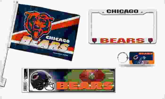 NFL Car-Tailgate Accessories: $10 for NFL Car-Tailgate Accessories ($24.99 List Price). 29 Teams Available.