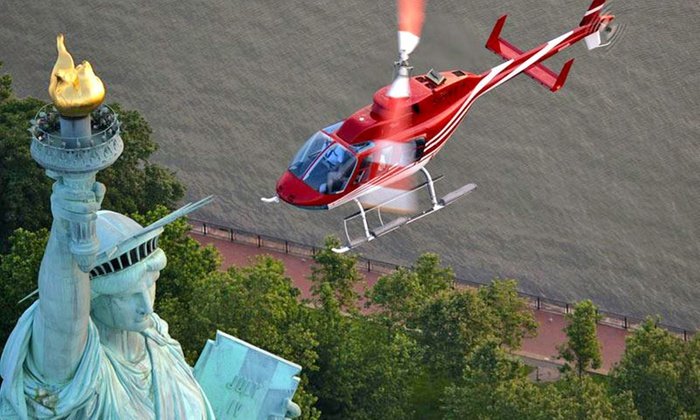 New York Helicopter - Financial District: Liberty Tour, Central Park Tour, or Grand Helicopter Tour from New York Helicopter (Up to 40% Off)