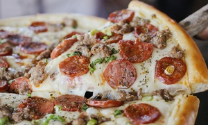 Pete's Restaurant & Brewhouse: Large Signature Pizza for Lunch or $12 for $20 at Lunch-Time at Pete's Restaurant & Brewhouse