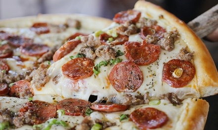 One Large Signature Pizza for Lunch or $12 for $20 Worth of Lunch at Pete's Restaurant & Brewhouse