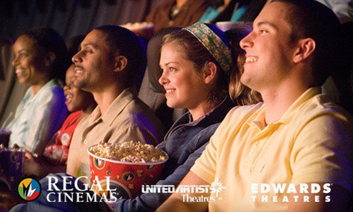 Regal Entertainment Group - Liberty Area: Two or Four VIP Super Saver e-Tickets to Regal Entertainment Group (Up to 48% Off)