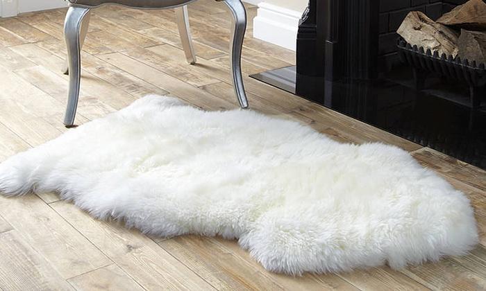 tapis en peau de mouton - Tapis Peau De Mouton