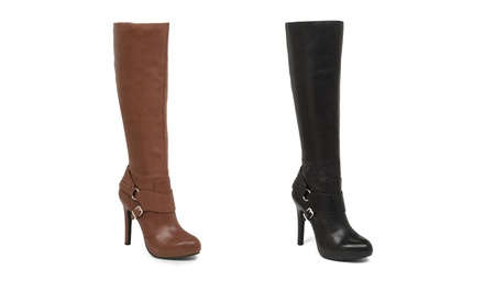 JESSICA SIMPSON Avern Tall Boots from $49.99 | Brought to You by ideel