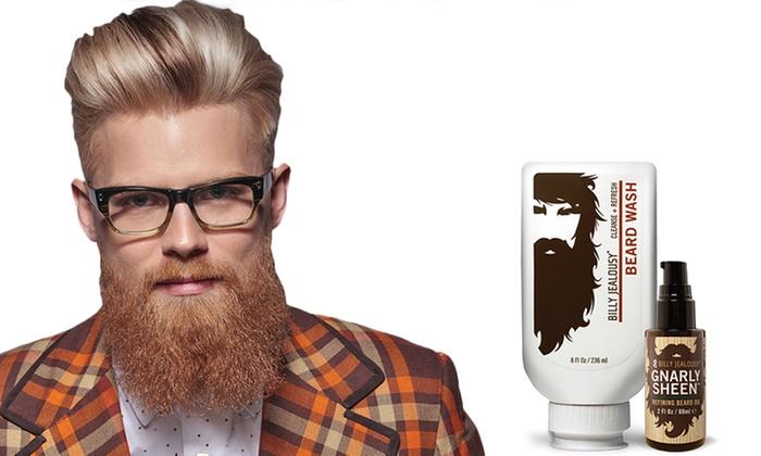 billy jealousy beard wash oil groupon goods. Black Bedroom Furniture Sets. Home Design Ideas