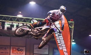 Liquid Nitro Arenacross Tour: The Arctic Cat Nitro Arenacross Tour on December 4 or February 26