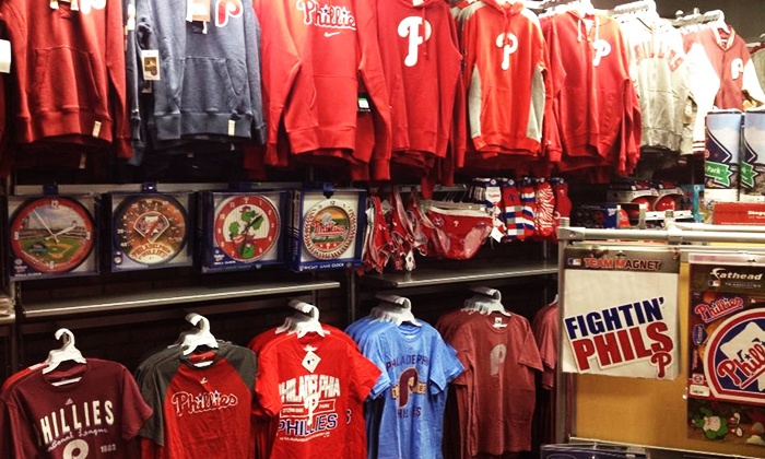 The Philly Team Store - Philadelphia: Philly Sports Apparel and Memorabilia at The Philly Team Store (Up to 50% Off). Two Options Available.