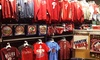 The Philly Team Store - Center City West: Philly Sports Apparel and Memorabilia at The Philly Team Store (Up to 50% Off). Two Options Available.