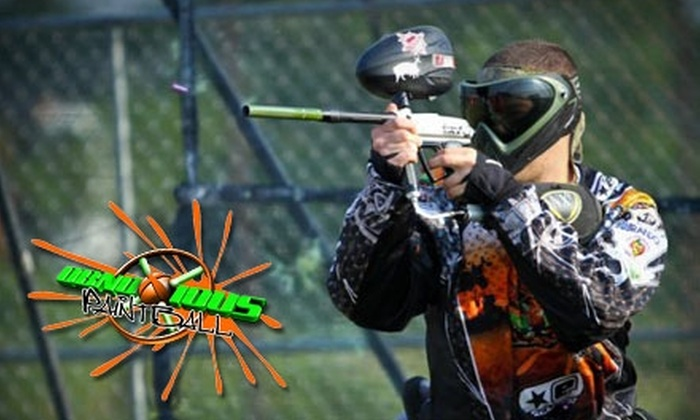 Obnoxious Paintball - North Bellmore: $30 for Admission, Gun Rental, and One Bag of Paintballs at Obnoxious Paintball