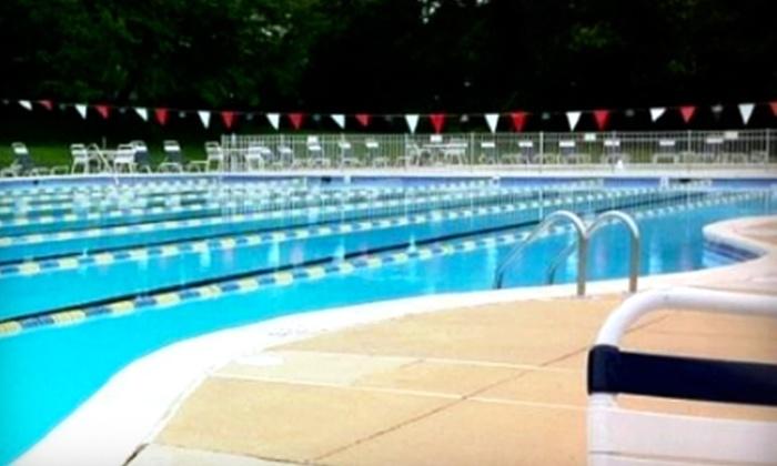 Ashbourne Swim Club - Elkins Park: $189 for a Family Membership to Ashbourne Swim Club in Elkins Park ($400 Value)