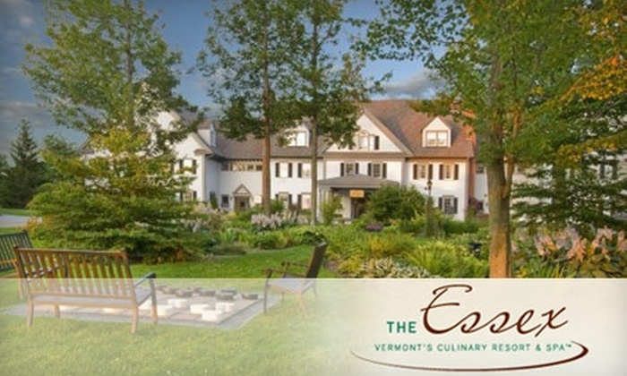 The Essex Resort & Spa - Essex Town: $349 for a Two-Night Four-Diamond Vermont Getaway to The Essex Resort & Spa in Essex, Plus a Tethered Balloon Ride. Choose From Four Weekend-Stays. (Up to $822 Value)
