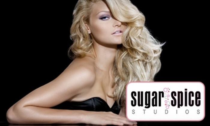 Sugar 'n Spice Studios - Downtown Toronto: $60 for $170 Worth of Salon Services at Sugar 'n Spice Studios