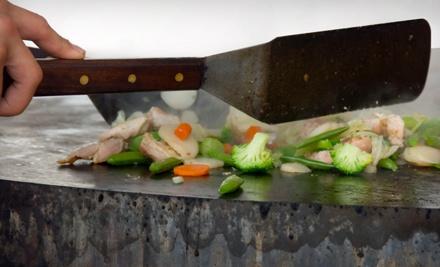 Hibachi Dinner for Two - Fuji Japanese Steak House in Rochester Hills
