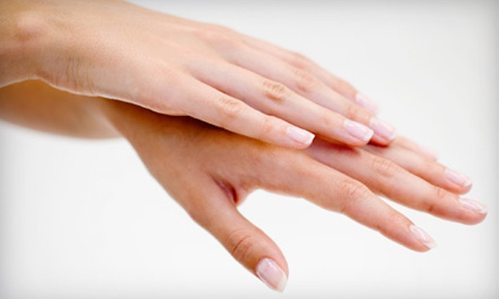 Zen Spa & Salon - Woodward Park: Mani-Pedi or Full White-Tip Acrylic-Nail Set at Zen Spa & Salon