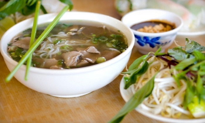 Noodles @ Boba Tea House - Summerfields: $10 for $20 Worth of Vietnamese Fare and Drinks at Noodles @ Boba Tea House