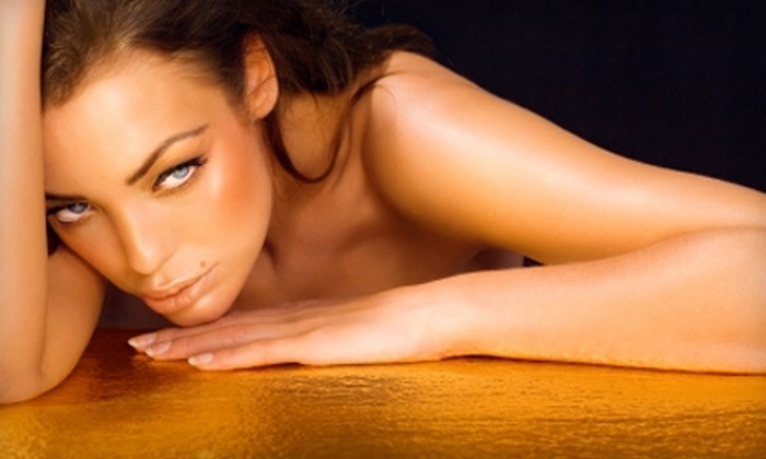 Total Image Tan - Lombard: $17 for a Custom Airbrush-Tan Session at Total Image Tan in Lombard ($35 Value)