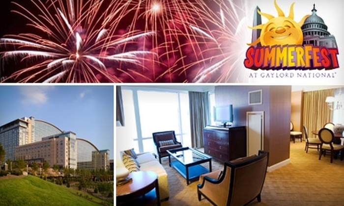 Gaylord National Resort and Convention Center - Fort Washington: $199 for an Overnight Stay in a One-Bedroom Executive Suite on Saturday or Sunday at Gaylord National Resort (Up to $675 Value)
