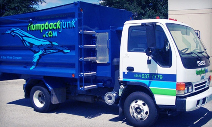 Humpback Junk Removal - West Lake Hills: $89 for Four Cubic Yards of Junk Removal from Humpback Junk Removal ($200 Value)