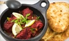 Sangam Restaurant - Arlington Heights: Indian Fare for Dinner at Sangam Restaurant in Arlington (Half Off). Two Options Available.