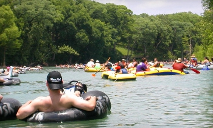 Tube Haus - East Canyon Lake: $7 for a Full Day of River Tubing from Tube Haus in Canyon Lake