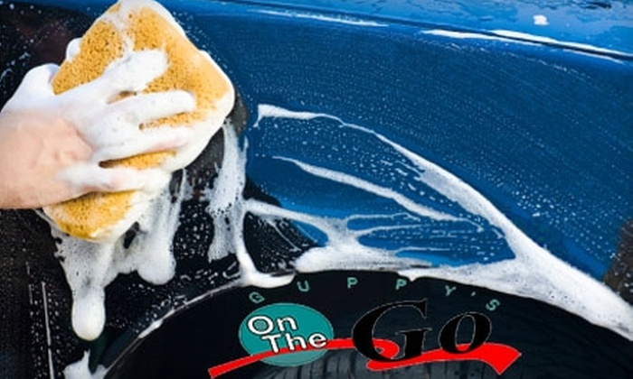Guppy's On The Go - Cedar Hills: $10 for Three Exterior Car Washes at Guppy's On The Go ($30 Value) in Edgewood