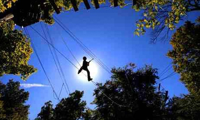 SuperGames - Liberty: Three-Hour High Ropes Course Experience for One or Two at SuperGames (Up to 57% Off)
