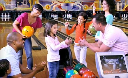 Two Hours of Bowling and Shoe Rental for Two People - AMF Bowling in Canton