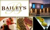 Bailey's American Grille - Seabrook: $70 Groupon to Bailey's American Grille