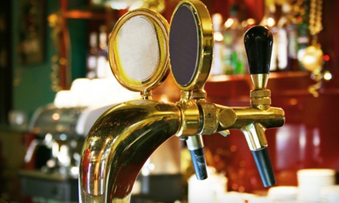 The Blarney Stone  - Belltown: $10 for $20 Worth of Pub Grub and Drinks at The Blarney Stone