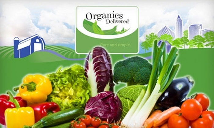 """Organics Delivered Limited: $30 for Two """"Best of Season"""" Produce Boxes from Organics Delivered Limited ($79.90 Value)"""