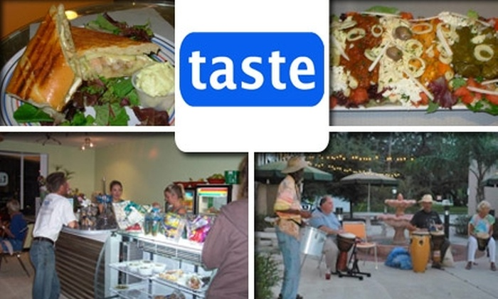 Taste Cafe - Safety Harbor: $5 for $10 Worth of Tasty Dishes and Drinks at Taste Cafe