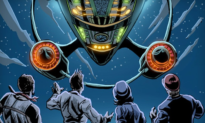 """Intergalactic Nemesis: Book One—Target Earth"" - Bouldin: $19 for One Ticket to ""The Intergalactic Nemesis: Book One—Target Earth"" at the Long Center on November 22 (Up to $44 Value)"