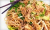 Up to 54% Off Thai Fare at Chao Thai Cuisine in Oakland