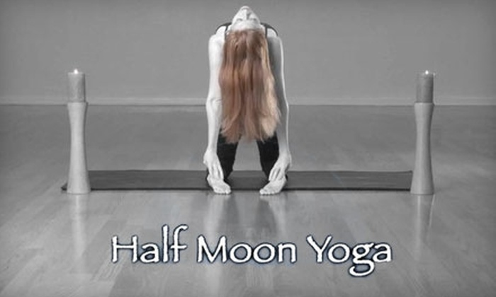 Half Moon Yoga - Franklin: $40 for Eight Yoga, Pilates, or Qigong Classes at Half Moon Yoga in Franklin ($115 Value)